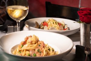 pasta dishes with wine